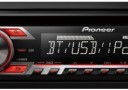 Pioneer: DEH-4500BT – CD/MP3/USB/iPod/iPhone Ready + Bluetooth