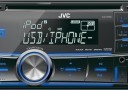 JVC KW-R500 2-DIN USB/CD Receiver with Dual AUX