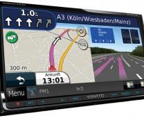 Kenwood: DNX-9210BT – 7.0″ Double Din DVD monitor + Navigation