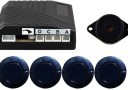 20mm #15 Metallic Blue Rear Parking Sensor Kit