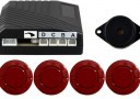 20mm #16 Red Rear Parking Sensor Kit