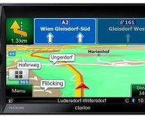 Clarion: NX302E – Double DIN Mechless Navigation