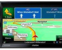 Clarion: NX302E – Double DIN Mechless Navigation