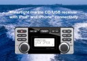 CLARION: CMD8 WATERTIGHT MARINE CD/USB RECEIVER